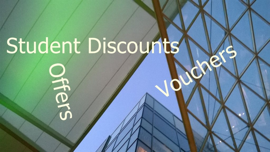 student discounts, vouchers, offers